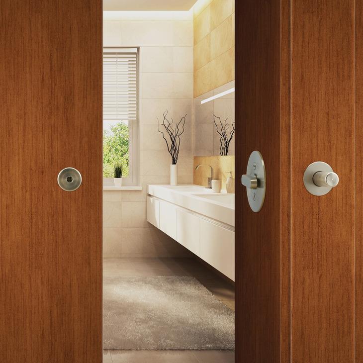Hafele 911.26.992 BL100 Privacy Lock, for Sliding Barn ...