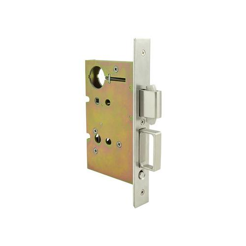 Hafele 911.26.830 Sliding/Pocket Door Lock, With Deadbolt for Active Door