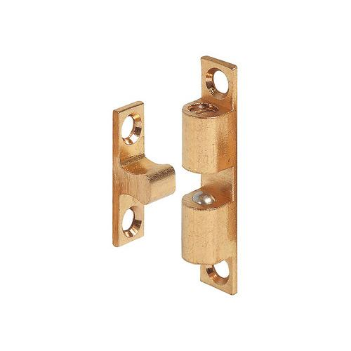 Hafele 244.20.015 Twin Ball Catch, Brass