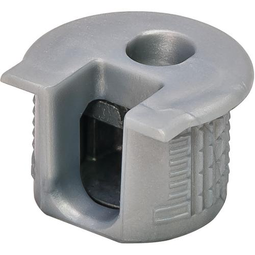 Hafele 263.10.205 Connector Housing, Rafix 20 System, without Ridge, Plastic