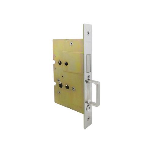 Hafele 911.26.810 Sliding/Pocket Door Lock, With Edge Pull for Inactive Door