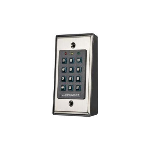 Alarm Controls KP-100 Self Contained Backlit Digital Keypad