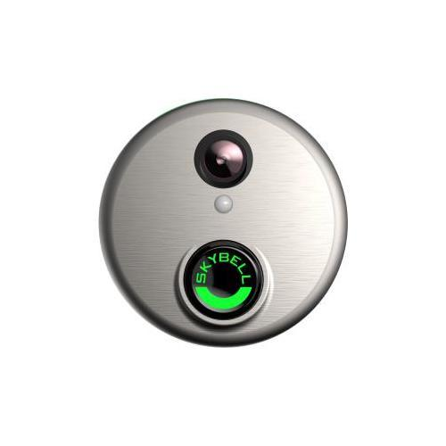 Alarm.com ADC-VDB101 Wifi Doorbell Camera Satin Nickel