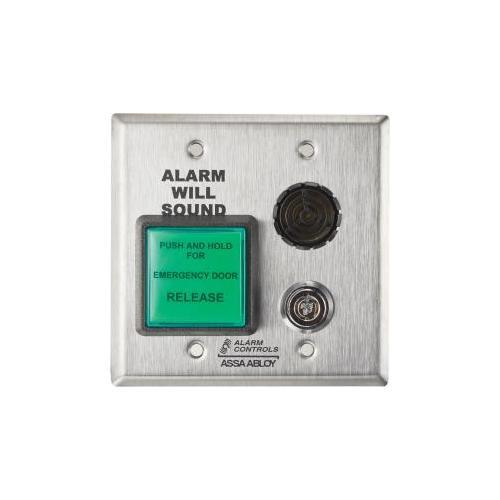 Alarm Controls DE-1 Delayed Egress Timer 2-45 Seconds