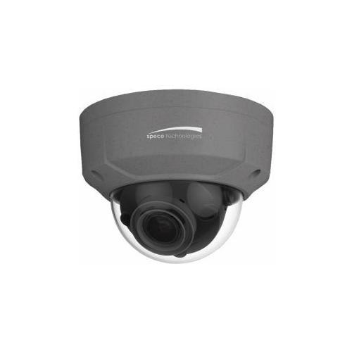Speco Technologies O8D2M-ISO +ip 8mp I/o Dome Cam 2.7-12mm Grey