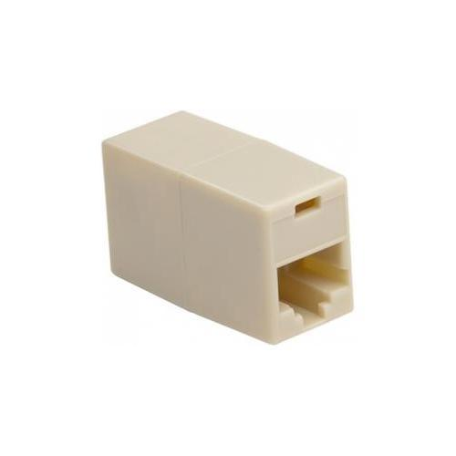 Platinum Tools 106211C Cat5e Rj45 In-line Coupler 2pc Clamshell