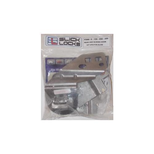 Slick Locks FD-FVK-SLIDE Ford E Series Slide Door Kit Less Padloc