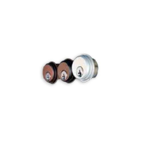 Calibre CL1000-AL-KA2 Pair Of Mortise Cyl Sch Kwy
