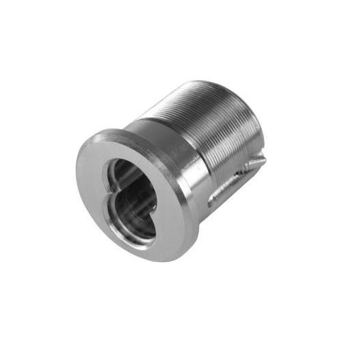 GMS ICM6-26DAR 6 Pin Small Format Best Interchangeable Core Mortise Cylinder Housing with Adams Rite Cam Satin Chrome Finish