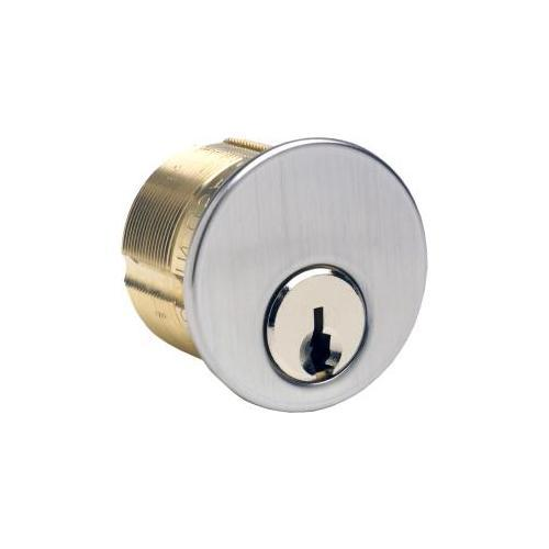 GMS M118AST26DATNK-6 Mortise Cylinder 1-1/8in 6p Assa T-6000