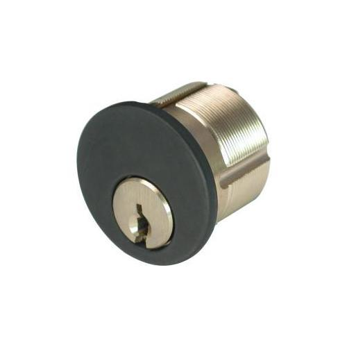 GMS M118AST10BATNK-6 Mortise Cylinder 1-1/8in 6p Assa T-6000