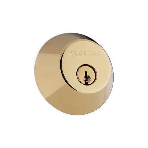 Weiser Lock GD94713BRWS Single Cylinder Deadbolt Grade 2 Slr3