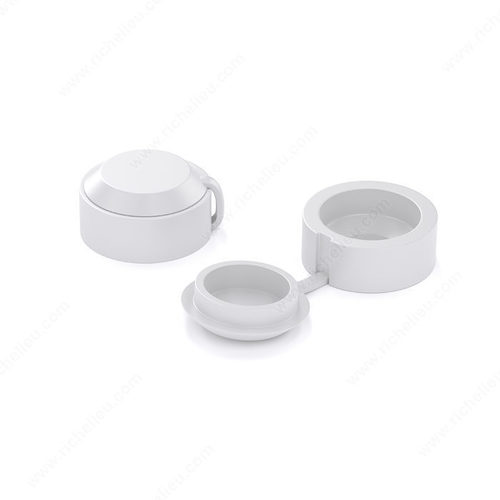 Richelieu Reclosable Plastic Cover Cap BP72530