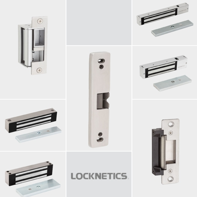 Locknetics CSLE-2 Electric Strike Parts and Accessories
