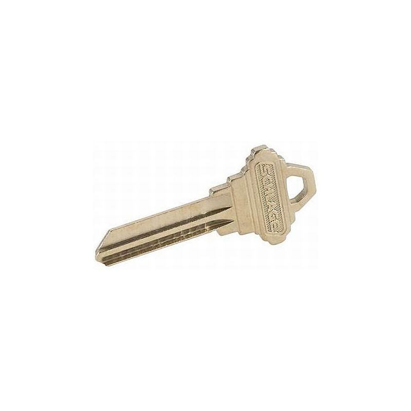 Brass Key Blank Best J Keyway 6 Pins