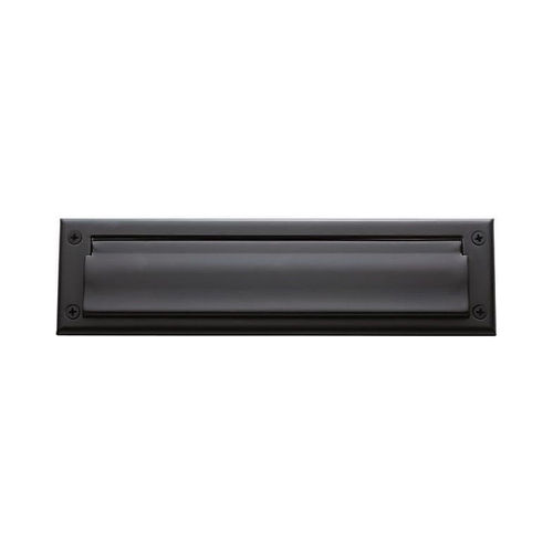 Baldwin 0012102 Letter Box Plate Oil Rubbed Bronze Finish