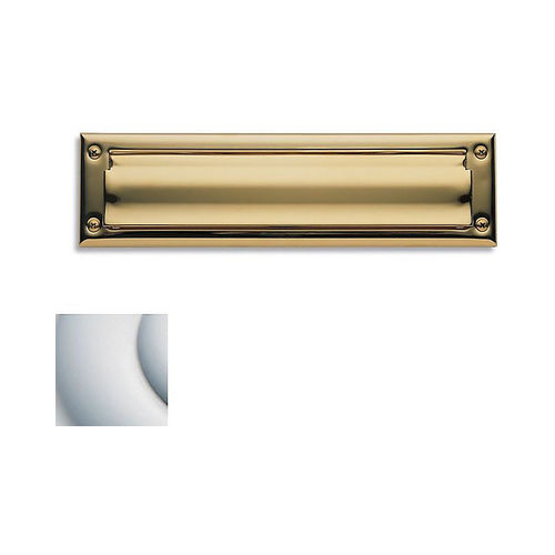 Baldwin 0014264 Letter Box Plate Satin Chrome Finish