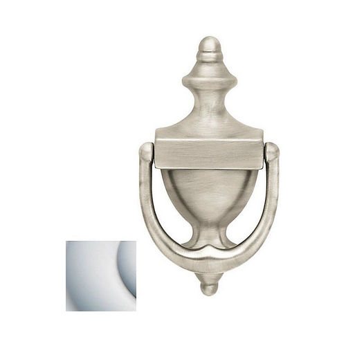 Baldwin 0102264 Door Knocker Satin Chrome Finish