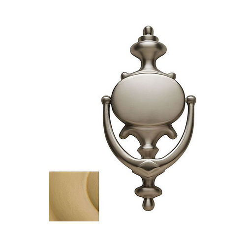 Baldwin 0116034 Imperial Door Knocker Lacquered Vintage Brass Finish