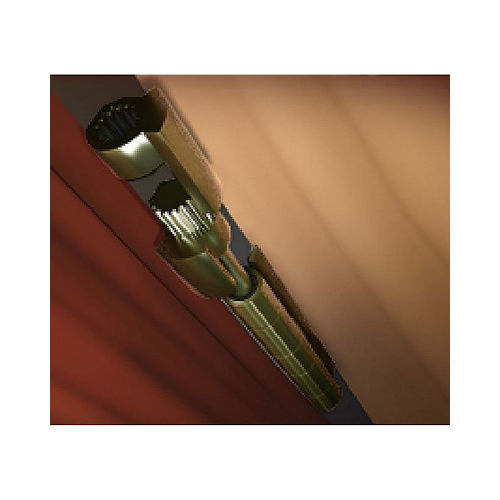Perfect Products 01272 Residential Doorsaver II Bright Brass Finish