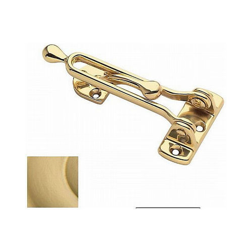 Baldwin 0250040 Door Guard Satin Brass Finish