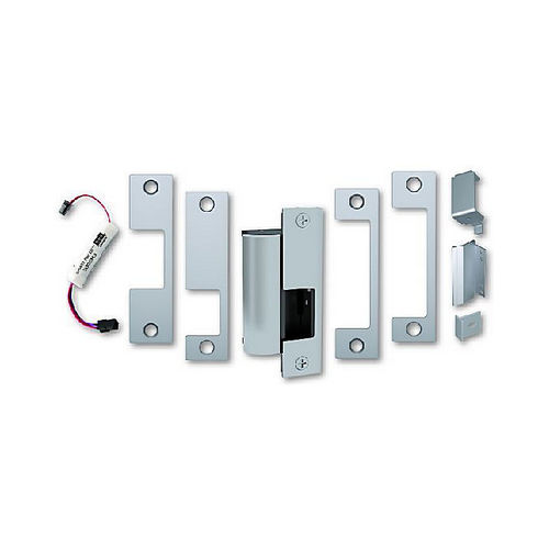 Assa Abloy Electronic Security Hardware - Hes 1006CS630 12VDC / 24VDC Smart Strike Electric Strike Body Satin Stainless Steel Finish