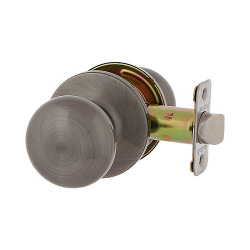 MaxGrade 100WAT15A Watson Passage Lock Antique Nickel Finish with Adjustable Latch and Radius Strike