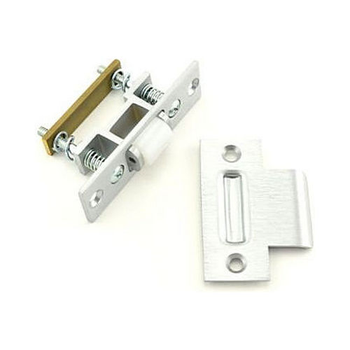 Trimco 1559WB626 UL Heavy Duty Roller Latch with T-Strike Satin Chrome Finish