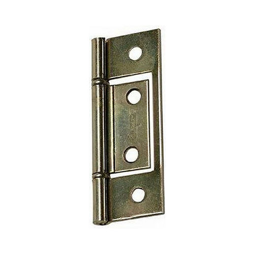 Stanley Security 2203BT Non Mortise Hinge # 521012 Brass Tone Finish