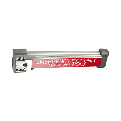 Von Duprin 267028 Guard-X Exit Alarm Lock, Anodized Aluminum Finish