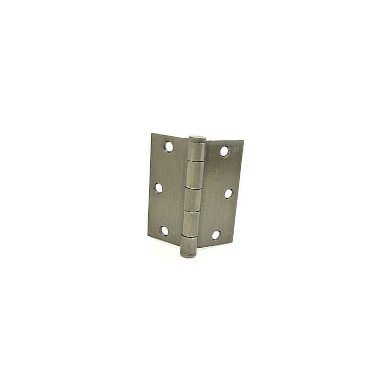 HAGER  3-1//2x3-1//2 SQUARE CORNER BRONZE US4 BUTT HINGES