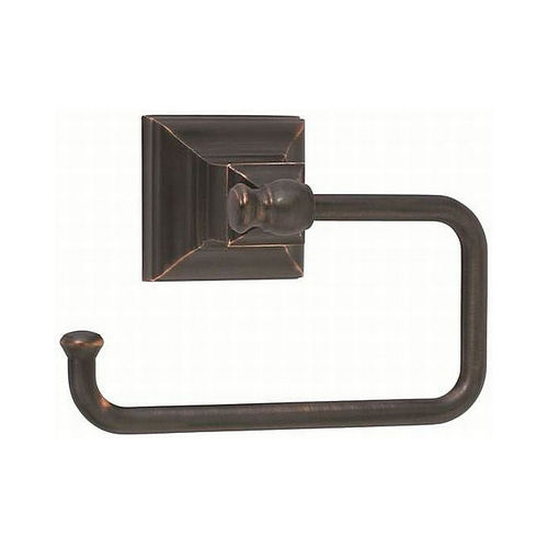 Amerock BH26510ORB Markham Single Post Tissue Roll Holder Oil Rubbed Bronze Finish