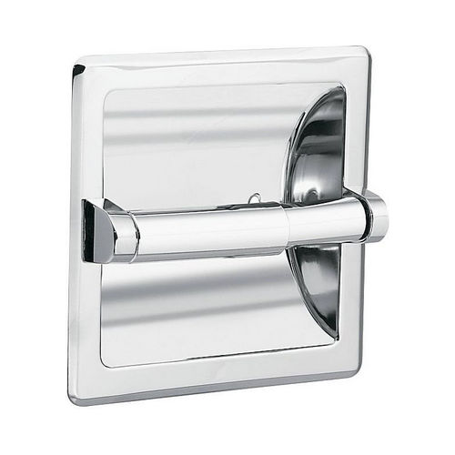 Moen DN5075 Recessed Paper Holder and Clamp Bright Chrome Finish