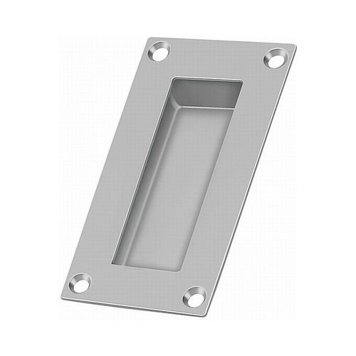 Deltana FP155U32D Flush Pull, Rectangular, Stainless Steel, 4