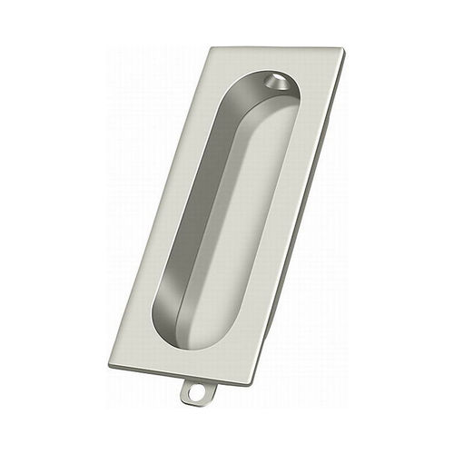 Deltana FP222U14 Flush Pull, Rectangle, 3-1/8