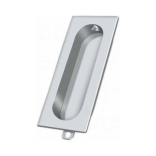 Deltana FP222U26 Flush Pull, Rectangle, 3-1/8
