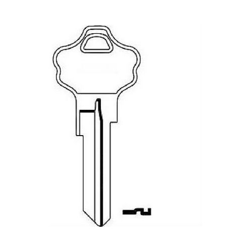 CLK Supplies Supplies KW10BR Kwikset 6 Pin Key Blank