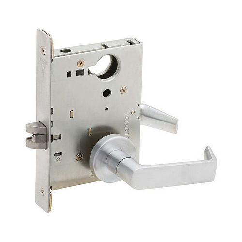 Schlage Commercial L901006A626 Passage Latch Mortise Lock with 06 Lever and A Rose Satin Chrome Finish