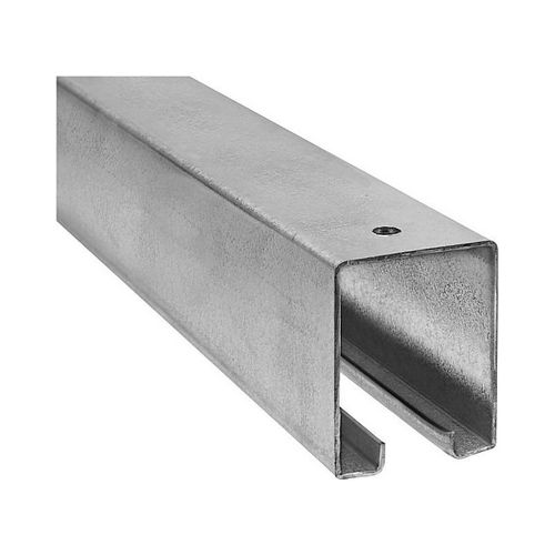 National Hardware N105213 5116BC 10' Plain Box Rail Galvanized Finish - This Item is Over 96