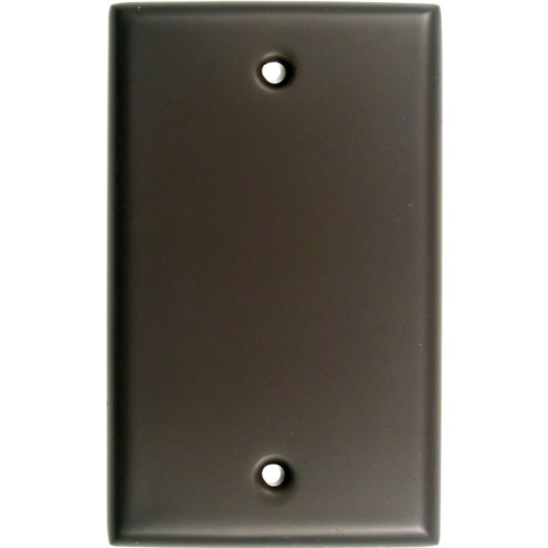 Rusticware 780ORB Single Blank Switch Plate Oil Rubbed Bronze Finish