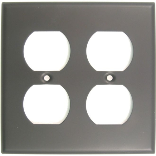 Rusticware 786ORB Double Outlet Switch Plate Oil Rubbed Bronze Finish