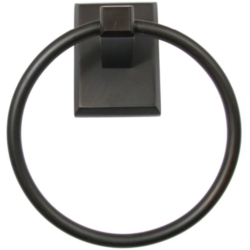 Rusticware 8786ORB Utica Towel Ring Oil Rubbed Bronze Finish
