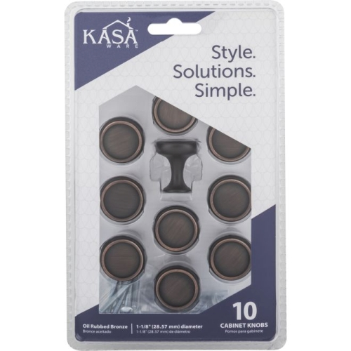 KasaWare K634BORB10 Pack of 10 1-1/8