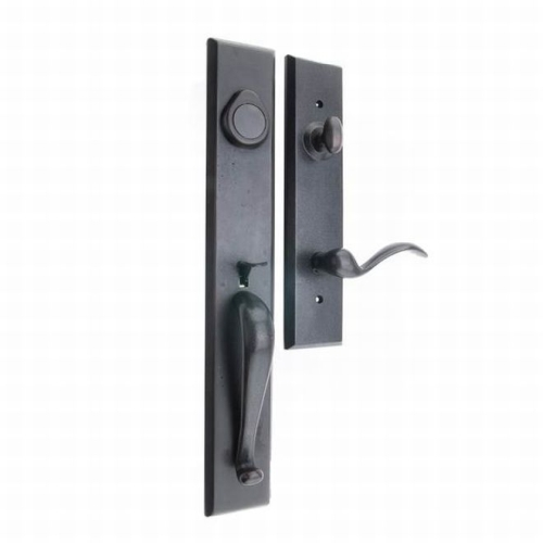 MaxGrade HLD3975RH Right Hand Dummy Severn Exterior Handleset with Welland Lever Trim Tuscany Bronze Finish