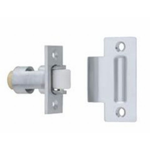 Ives RL323 Nylon Roller Latch Bright Brass Finish