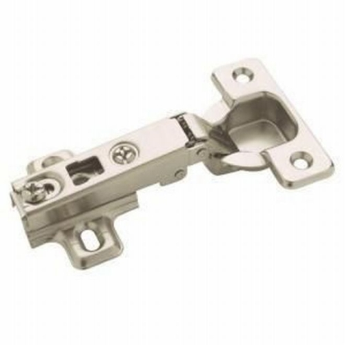 Amerock TEN4611A14 Pack of 10 Full Overlay Frameless Concealed Cabinet Hinge Nickel Finish
