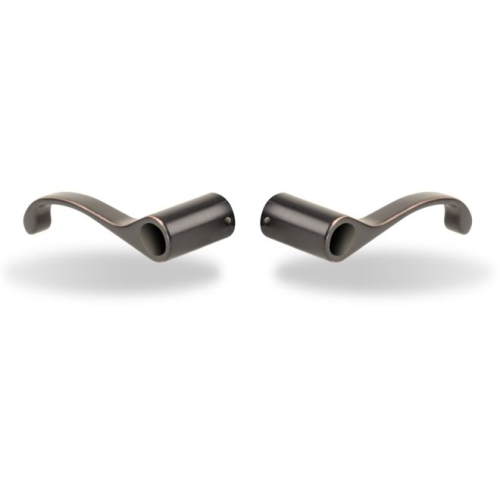 Yale Real Living YR05D85K McClure Entry Lever Pair Oil Rubbed Bronze Permanent Finish