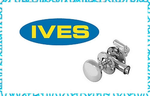 Ives Residential 481F26 Steel Chain Door Guard Bright Chrome Finish