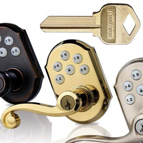 Safelock SL7000WI-15 Winston Single Dummy Lock Satin Nickel Finish
