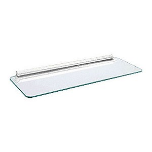 CRL 89WH10824KV Glass Shelf Kit with White Bracket